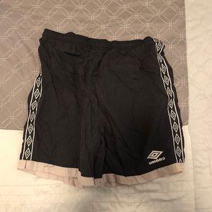 Vintage Umbro Black Shorts